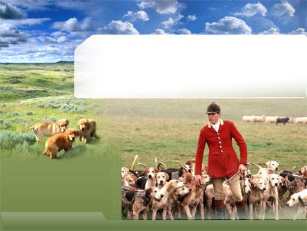 Dog Breeding Free Presentation Template, Master Slide