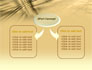 3D Sepia Business slide 4