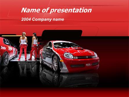 Automotive Presentation Template, Master Slide