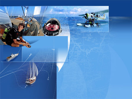 Sea Tourism Presentation Template, Master Slide