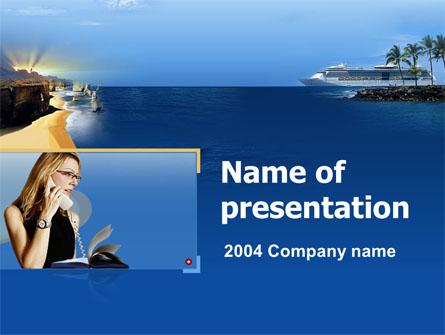 Travel Agency Presentation Template, Master Slide