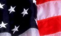 American Flag Presentation Template