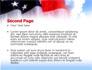 American Flag slide 2
