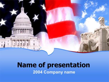 Capitol Presentation Template, Master Slide