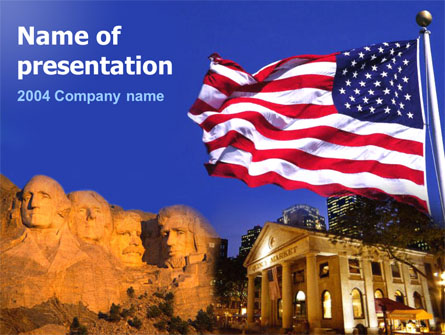 Founding Fathers Presentation Template, Master Slide
