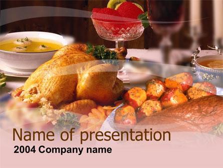 Supper Presentation Template, Master Slide