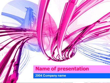 Wires Free Presentation Template, Master Slide