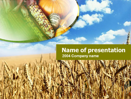 agriculture free presentation template for powerpoint and keynote, Templates