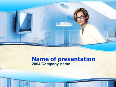Interior Presentation Template, Master Slide
