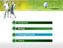 Couple of Golfers slide 3