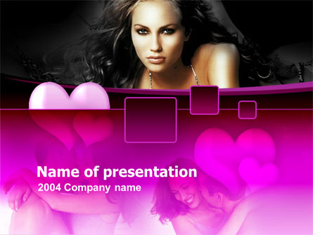 Beauty and Love Presentation Template, Master Slide