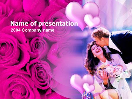 Valentines Day Presentation Template, Master Slide