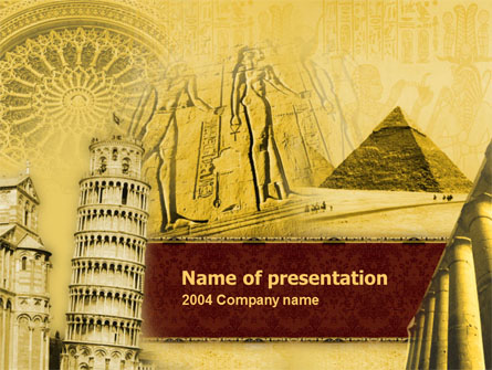 Historical monuments presentation template for powerpoint and historical monuments presentation template master slide toneelgroepblik Gallery