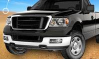 Pickup Truck Free Presentation Template