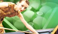 Billiard Player Presentation Template