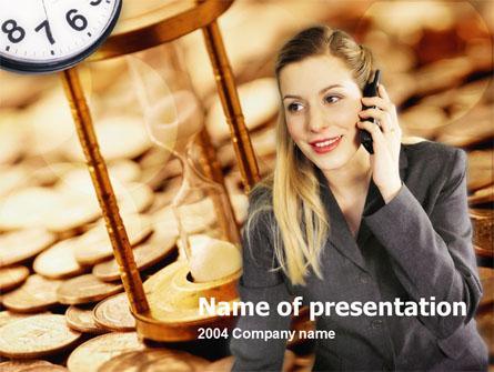 Business Secretary Presentation Template, Master Slide
