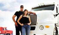 Truck Driving Job Free Presentation Template