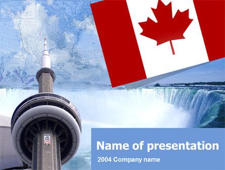 Canada Presentation Template, Master Slide