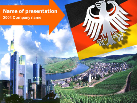 Germany Presentation Template, Master Slide