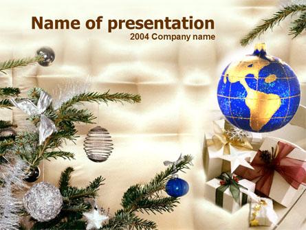 Christmas Presents Presentation Template, Master Slide
