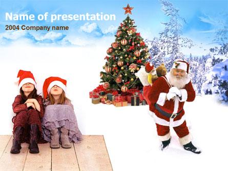 Christmas  Xmas Free Presentation Template, Master Slide