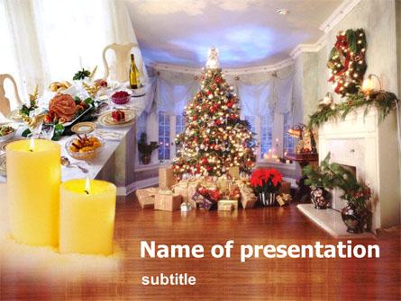 New Year Presentation Template, Master Slide