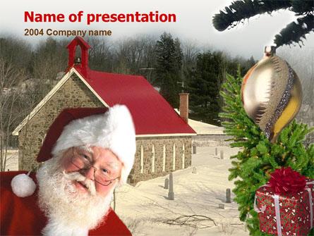 Santa Claus Presentation Template, Master Slide