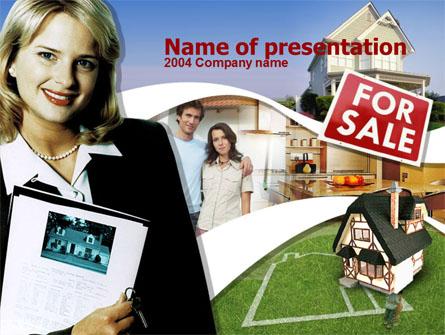 Real Estate Business Presentation Template, Master Slide