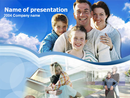 Family Time Presentation Template, Master Slide