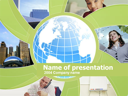 Business Personnel Assistants Presentation Template, Master Slide