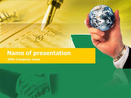 Business Deal Free Presentation Template, Master Slide