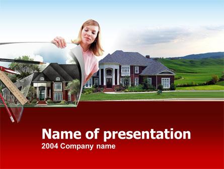 Private Real Estate Presentation Template, Master Slide
