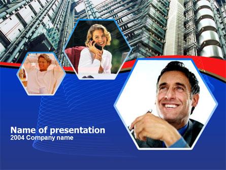 Business Concepts Free Presentation Template, Master Slide