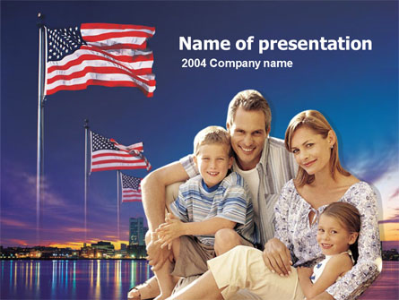 American Family Presentation Template for PowerPoint and
