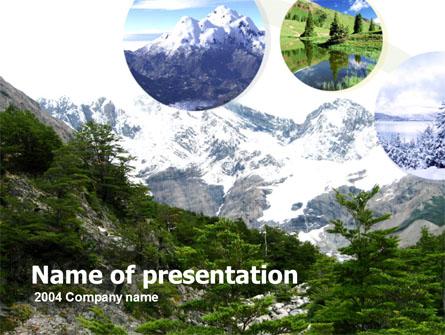 Mountains Presentation Template, Master Slide