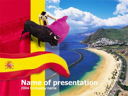 Spain Presentation Template, Master Slide