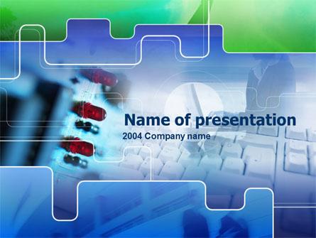 Computer Hardware Presentation Template, Master Slide