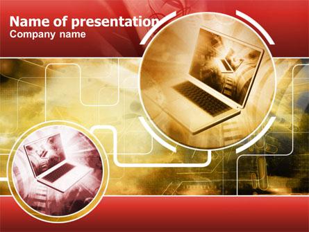 Direct Connection Presentation Template, Master Slide