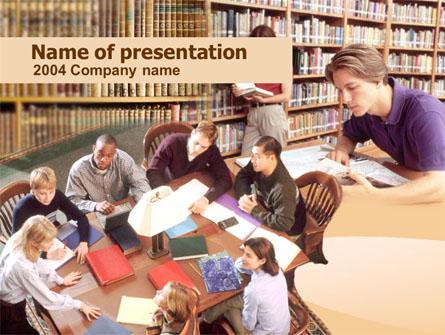 Self Study Presentation Template, Master Slide