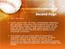 Baseball Ball slide 2