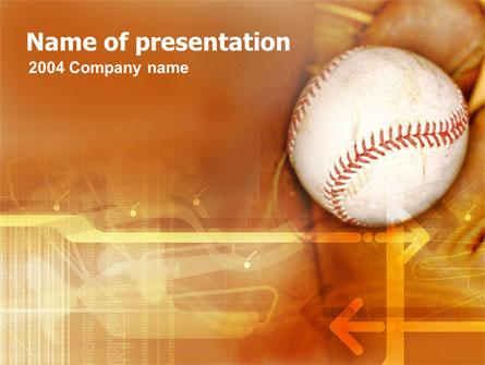 Baseball Ball Presentation Template, Master Slide