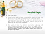 Wedding Rings And Champagne slide 2