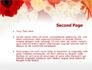 Red Flowers slide 2