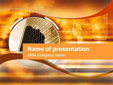Business Center Presentation Template, Master Slide