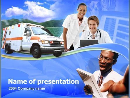 Emergency Aid Presentation Template, Master Slide