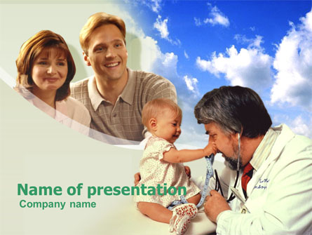 Pediatrics Presentation Template, Master Slide