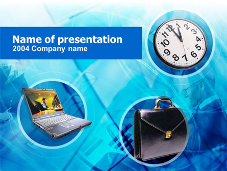 Time Management Presentation Template, Master Slide