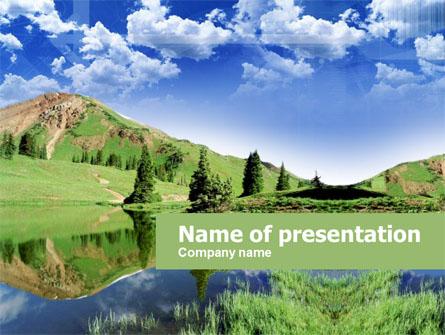 Alpine Meadows Presentation Template, Master Slide