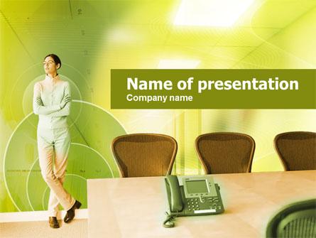 Company Conference Room Presentation Template, Master Slide
