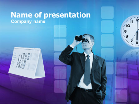 Looking Forward Presentation Template, Master Slide